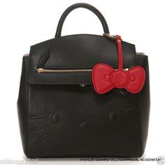 Hello-kitty-x-Samantha-Vega-Backpack-Black-or-White-F-S-SANRIO-from-JAPAN