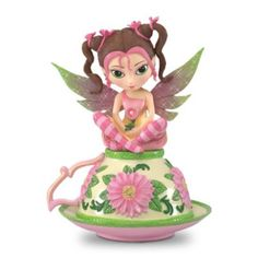 Precious Swee-tea Figurine - You're among the first to see this brand-new item from The Hamilton Collection Online. Quantities are limited, so hurry to reserve yours today. ($29.99 + $8.99 S)