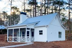 Compact and Versatile 1- to 2-Bedroom House Plan - 24391TW | Architectural Designs - House Plans Small Cottage House Plans, 2 Bedroom House Plans, Small Cottage Homes, Small House Floor Plans, Lake House Plans, Cottage Plan, Tiny Homes, Lake Cottage, Farmhouse Master Bedroom