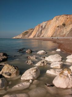 Alum Bay /  Isle of Wight  / England