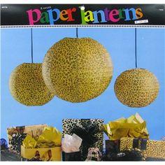 Leopard Fashionista Paper Lanterns
