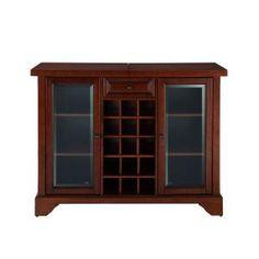 Unique Crosley Furniture Bar Cabinet