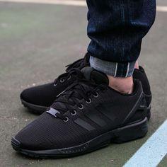 the best attitude 25c43 cc3e1 Adidas Originals ZX Flux OG Torsion Black Mens Shoes S32279 NEW