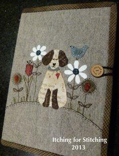 lynette anderson dog in gardenh