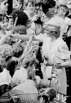 On Tuesday July 26 in 1983, Princess Diana visited Grimsby, to open its new District General Hospital.