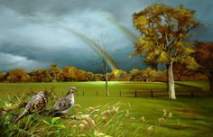 paintings+of+animals+&+scenery | Landscape Paintings ~ Wildlife Art ~ Paintings of Wildlife