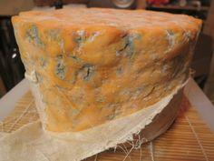 Making Shropshire Blue Cheese
