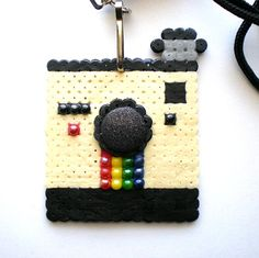 Polaroid perler beads