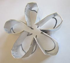 Cookie cutters made from Dollar Store aluminum platter! Wowza!
