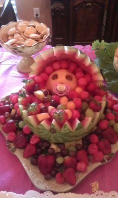 kinda creepy but cool idea for a spring/summer baby shower!