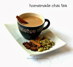 Manila Spoon: Homemade Chai Tea - easy and delicious - so much better than the store-bought variety!