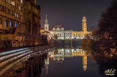 Primaria Oradea si Biserica Sf Ladislau | Oradea in imagini