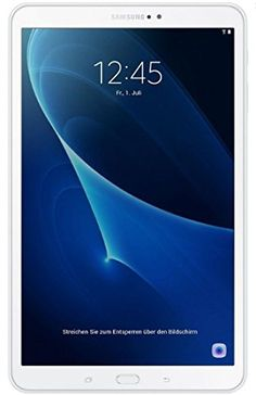 Samsung Galaxy Tab A - Tablet de 10.1 pulgadas FullHD (WiFi, Procesador Octa-core de 1.6GHz, 2 GB de RAM, 16 GB de almacenamiento, Android 6.0 Marshmallow)