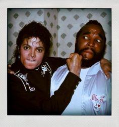 Michael Jackson & Mister T 1985
