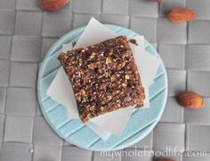 All you need is 6 simple ingredients to make these no bake Almond Butter Protein Bars. Vegan, gluten free and kid approved too!