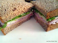 Gluten Free Teff Sandwich Bread