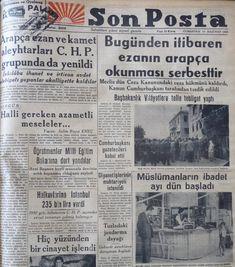 Arapça ezan 18 yıl yasaklı kalmış, ezanı ve ikametin aslını okuyanlar hapsedilmiştir. Şehid başbakan Adnan Menderes 14 Mayıs 1950 seçimleri akabinde iktidara gelir gelmez 16 Haziran 1950'de bu zulme son vermiştir.  Cenabı Hak rahmet eylesin.  16 Haziran 1950 – TBMM, Türkçeleştirilmiş ezanın eskiden olduğu gibi Arapça okunmasına dair kanunu kabul etti.