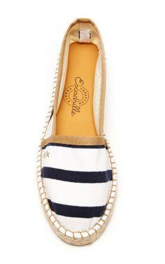 Striped Cotton Espadrilles by Escadrille - Moda Operandi