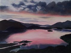 Lake District  Oil painting