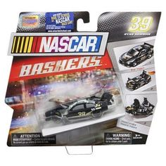 Nascar Bashers Full Blast Crash Car - #39 Ryan Newman - U.S. Army by Spin Master. $11.99. Rear impact. #39 Ryan Newman - U.S. Army. Bash and rebuild with NASCAR Bashers Full Blast Crash Cars.   #39 Ryan Newman U.S. Army Vehicle is rear impact.  Collect them all!  Model: 20052026  Age 3+