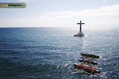 Philippine Travel Guide: The sunken cemetery, Camiguin.  By Aileen Siroy