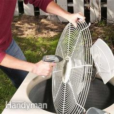 DIY Air Conditioner Repair - Article | The Family Handyman
