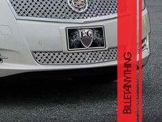 CADILLAC-XTS-BASE-CHROME-DUAL-WEAVE-MESH-LOWER-ONLY-GRILLE-GRILL