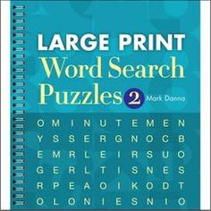 S&S 18197 Large Print Word Search Puzzle Book Vol. 2 Sterling Publishing, January Bullet Journal, Word Search Puzzles, Puzzle Books, Large Prints, Periodic Table, Sayings, Number 2, Periodic Table Chart