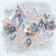It's cold outside by Vero - The French Touch - Scrapbook.com