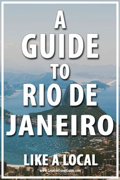 Marcelle shares her top tips for travelling to Rio De Janeiro and exploring the wonderful city and all it has to offer - Beach, Bars, Brazil.