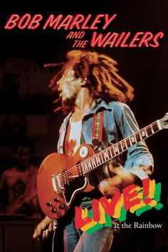 Bob Marley and the Wailers - Live at the Rainbow (DVD, Set) for sale online Arte Bob Marley, Bob Marley Legend, Top 10 Music Videos, Bob Marley Concert, I Shot The Sheriff, Island Movies, Bob Marley Pictures, Damian Marley, Robert Nesta