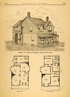 Victorian House Plans Victorian Architecture House Design