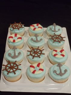 nautical cupcakes | Nautical Cupcakes - Cake Decorating Community - Cakes We Bake