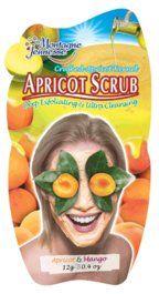Apricot face scrub.