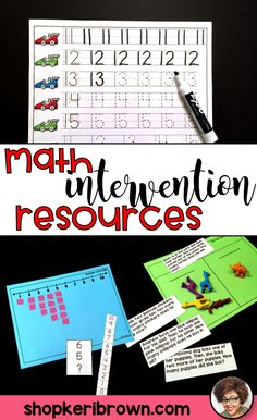 Looking for some simple kindergarten math intervention activities for small group time? Find out how I plan and implement math small group every day.