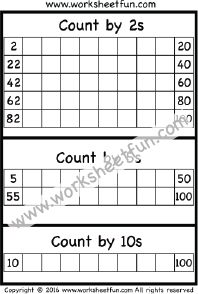 skip counting by 2 count by 2s three worksheets printable worksheets pinterest count. Black Bedroom Furniture Sets. Home Design Ideas