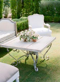 Elegant decor: http://www.stylemepretty.com/2015/02/26/spring-santa-barbara-wedding-at-villa-sevillano-part-i/ | Photography: Jose Villa - http://josevilla.com/
