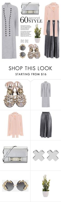 """""""Fits me to a tee"""" by pensivepeacock ❤ liked on Polyvore featuring Gucci, Chloé, Chicwish, Proenza Schouler, Tiffany & Co., Witchery and Dolce&Gabbana"""