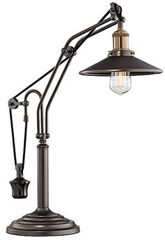 Emile Oiled Rubbed Bronze Metal Desk Lamp Franklin Iron W... https://www.amazon.com/dp/B00V66HFLE/ref=cm_sw_r_pi_dp_x_CK2rybQNABG09