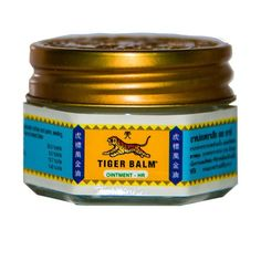 Tiger Balm Red & Tiger Balm White Are Effective Analgesic Ointments.