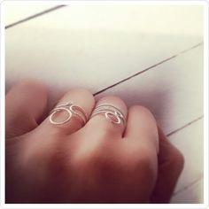 When autumn knocks...wear silver rings.