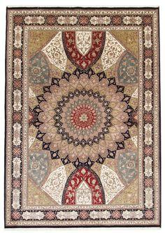 Tabriz  Handgeknüpft Teppich 284  x 188  cm  Rug Tapis tapete oriental