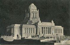 locuri în Bucureşti...: Fundaţiile unui palat