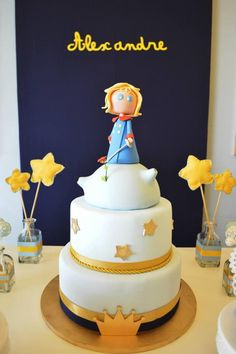 Little Prince Party with So Many Cute Ideas via Kara's Party Ideas KarasPartyIdeas.com #PrinceParty #PartyIdeas #Supplies (20)