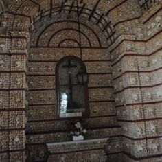 Creepy chapel made of monks' bones in Faro, Portugal