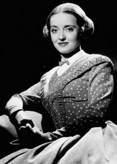 """Bette Davis as Henriette in """"All This and Heaven Too"""" (1940)"""