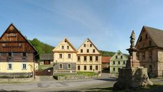 Heart Of Europe, Vernacular Architecture, Czech Republic, Prague, Places To See, Lab, Cottage, Traditional, Mansions