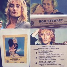 Today in 1979, Rod Stewart started a four week run at No.1 on the US singles chart with 'Da Ya Think I'm Sexy'. Don't Ya Think 8-Tracks are Sexy?