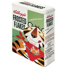 Nostalgic-Art 30304 Kellogg's Frosted Flakes Tony Tiger, Vorratsdose XL