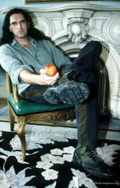 """hehehe, """"the apple"""". and damn me to hell gladly. Type O Negative Band, Doom Metal Bands, Grunge Hippie, Peter Steele, Green Man, Attractive Men, Fallout, Rock And Roll, Singer"""